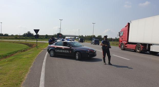 Controlli e interventi dei carabinieri