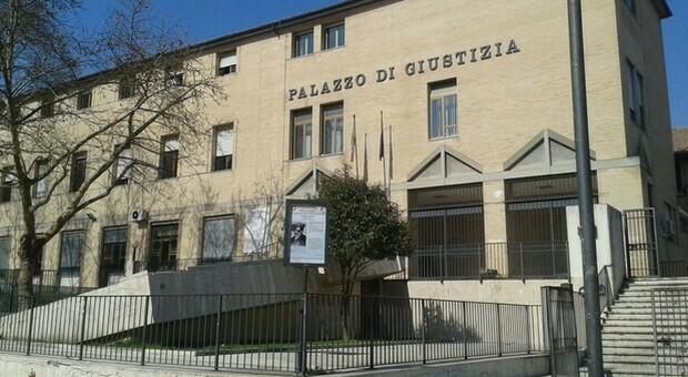 Il palazzo di giustizia di Cassino
