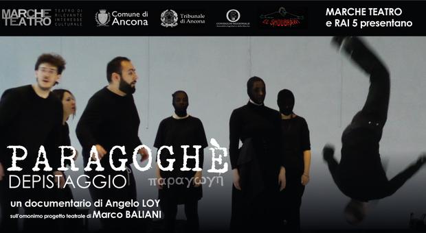 Una scena di Paragoghé di Marco Baliani