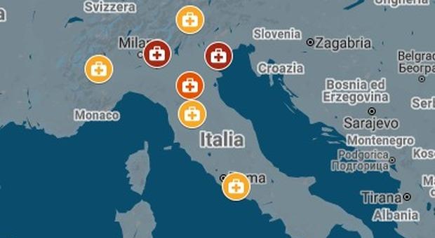 Coronavirus in Italia, 283 contagi e 7 morti: a Palermo il primo caso al Sud