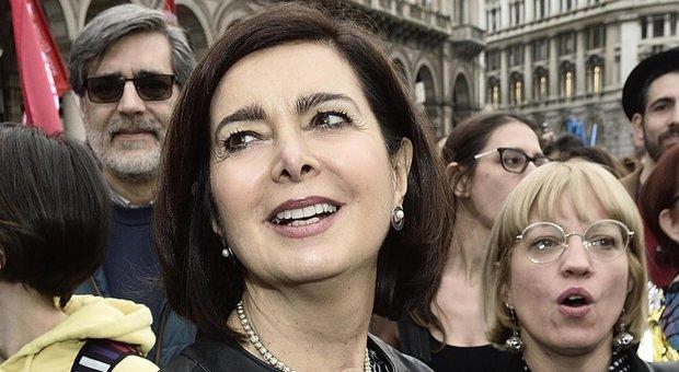 Laura Boldrini entra nel Pd: «Non questa destra non è più tempo di piccoli partiti»
