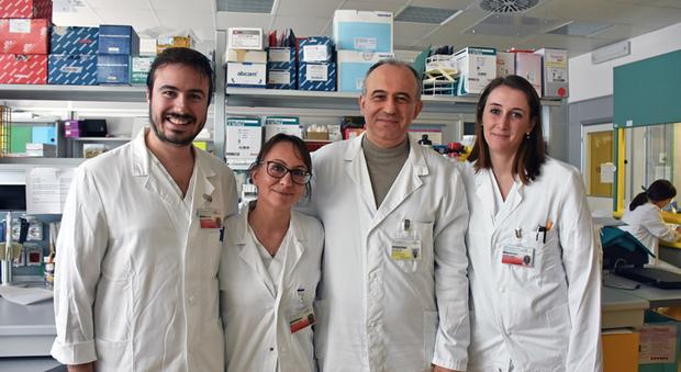 Il gruppo di ricerca  dell'Istituto tumori della Romagna