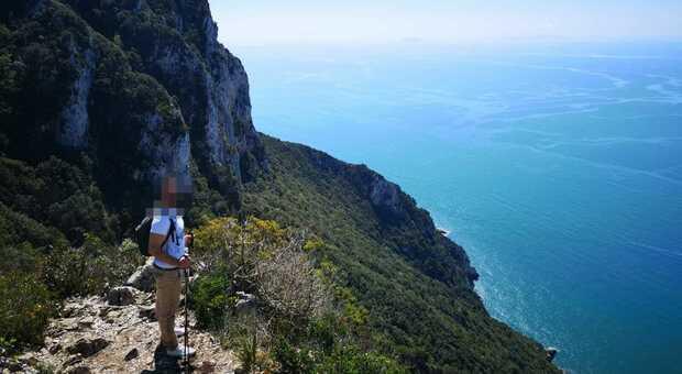 Il sentiero che porta al Picco di Circe è tra i più suggestivi della Riviera ma è anche pericoloso e per escursionisti esperti