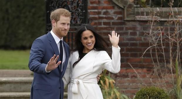 Harry e Meghan si mostrano in pubblico (ansa)