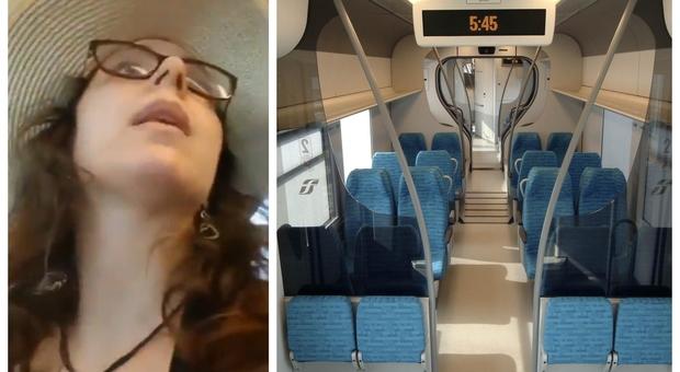 Donna rifiuta la mascherina e fa fermare il treno. «Siete popolo di schiavi». Vagone in rivolta