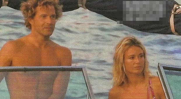 Diletta Leotta in barca con Marco Valta (Chi)