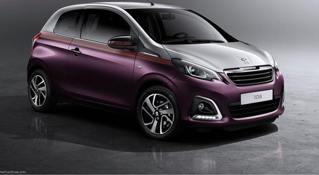 La nuova Peugeot 108 prenderà il posto della 107