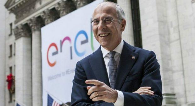 Il ceo di Enel Francesco Starace