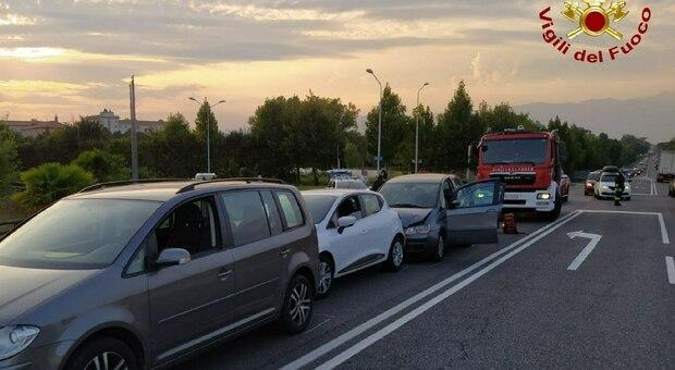 L'incidente sulla Pontebbana