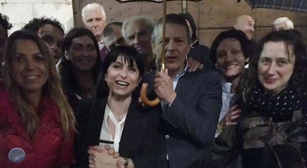 Stefania Proietti festeggia