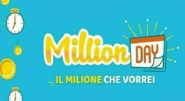 Million Day, diretta estrazione di oggi giovedì 30 luglio 2020
