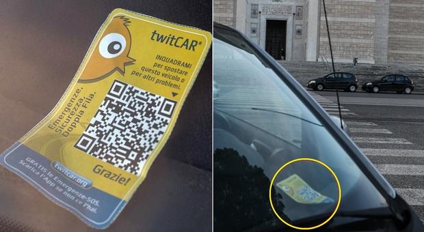 Roma, spunta app-beffa per il parcheggio selvaggio: avviso sul cellulare per evitare la multa