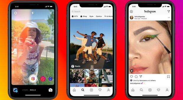 Instagram come TikTok: ecco Reels, la funzione per realizzare video creativi