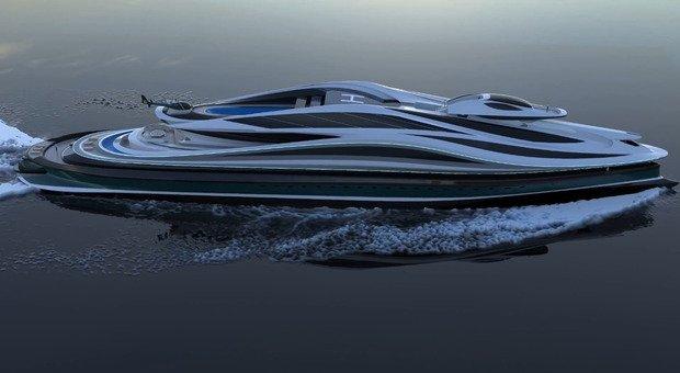 Avanguardia, è italiano lo yacht da 500 milioni di dollari che si trasforma in cigno