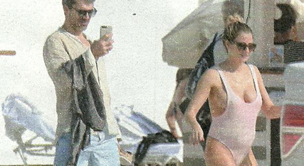 Luca Argentero e Cristina Marino in vacanza a Miami (Vero)