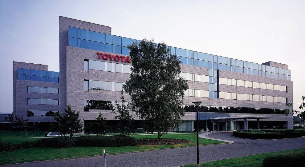 La sede di Toyota Motor Europe a Bruxelles