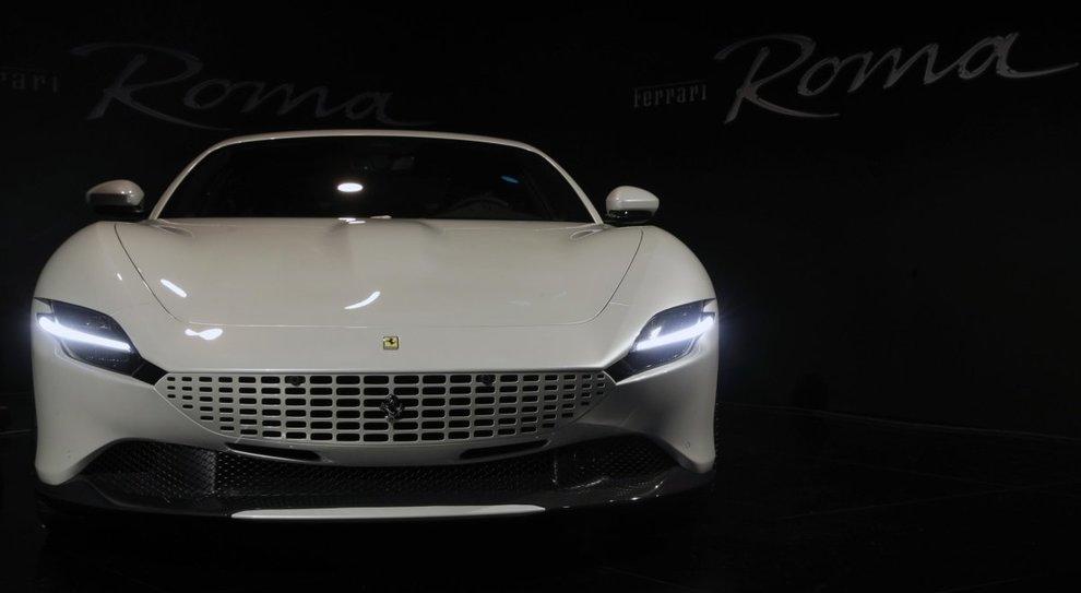 La nuova Ferrari Roma