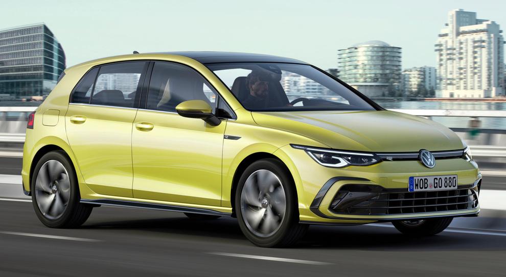 L'ottava generazione della Volkswagen Golf