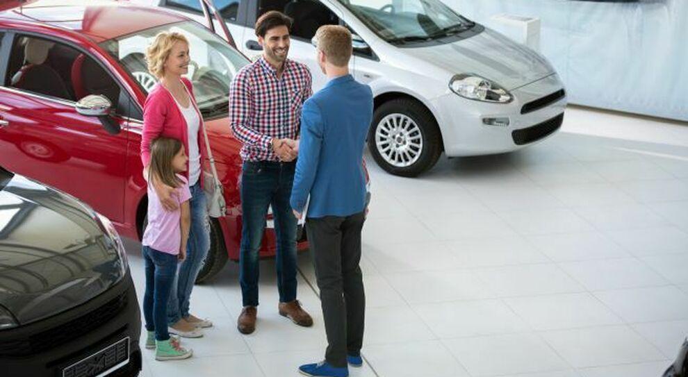 L'acquisto di un'auto nuova in concessionaria