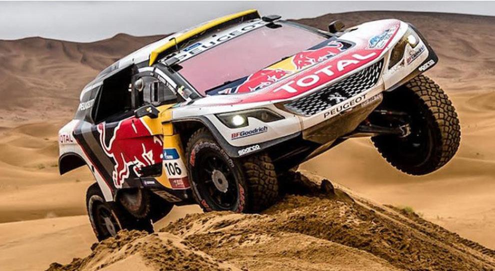 La Peugeot 3008 DKR al Silk Way Rally