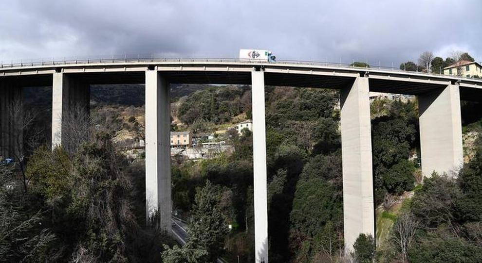 Un viadotto autostradale