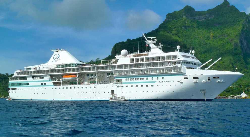Una nave della Paul Gauguin Cruises