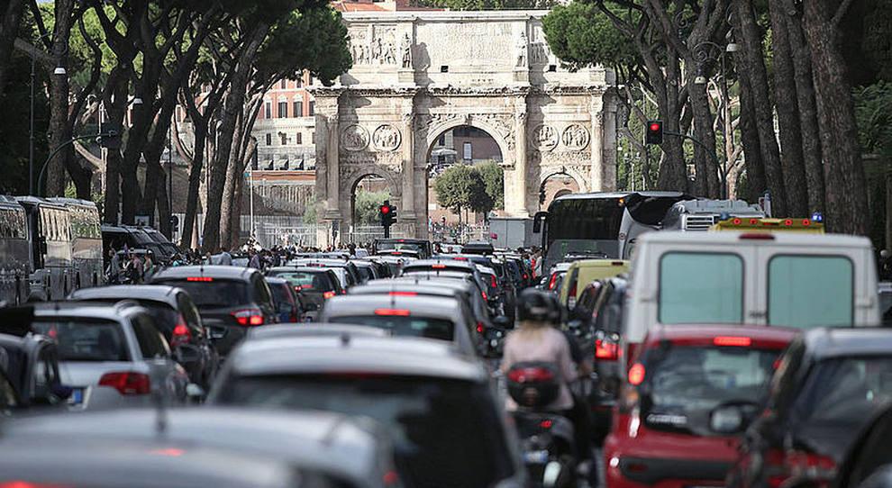 Traffico a Roma