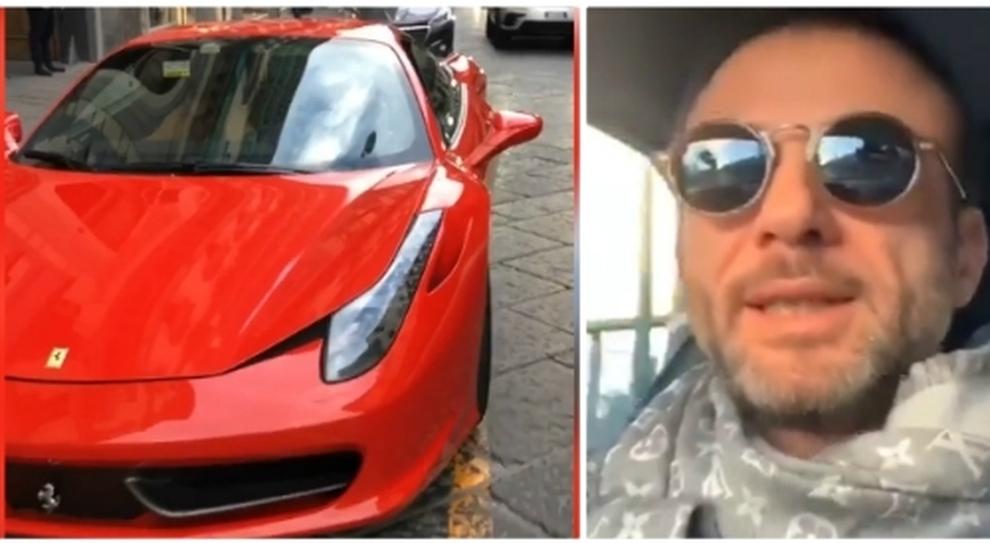 Il proprietario della Ferrari è l'imprenditore Pino Bozza
