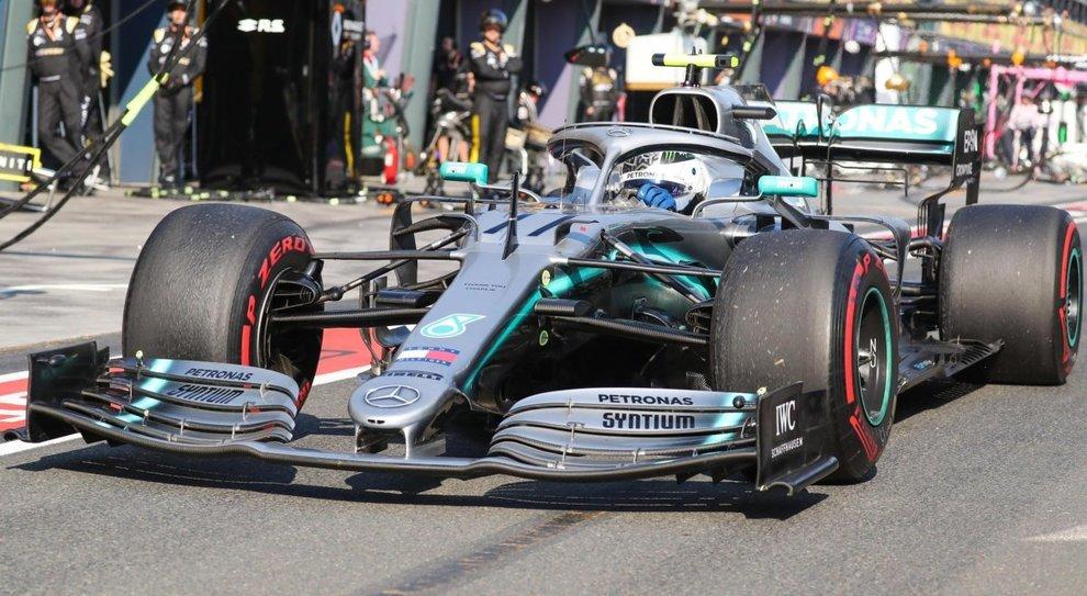 Valtteri Bottas, su Mercedes, ha vinto dominando il Gp d'Australia