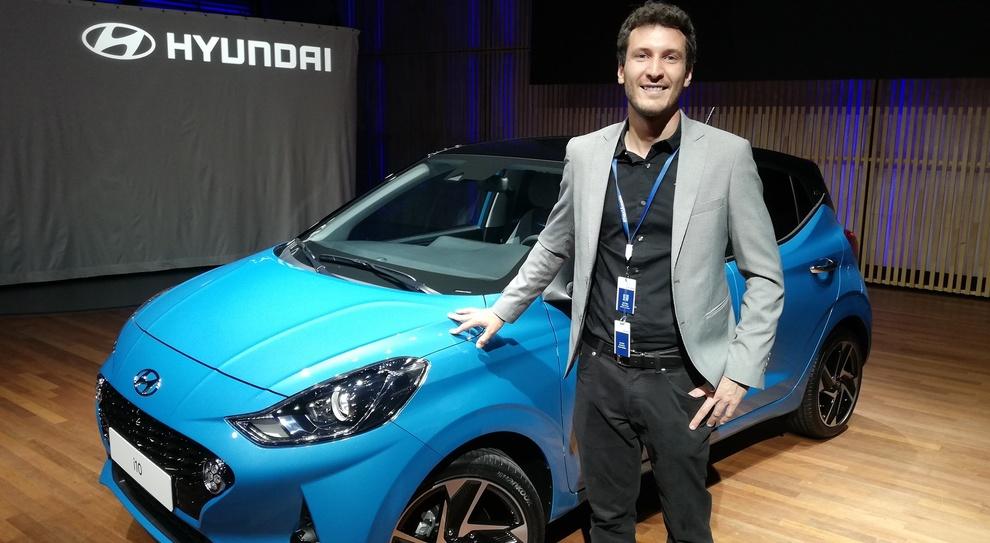 Davide Varenna, ha firmato gli esterni della nuova Hyundai i10
