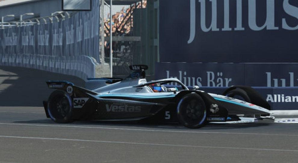 la Mercedes di Vandoorne vince il Race at Home Challende di FE di New York
