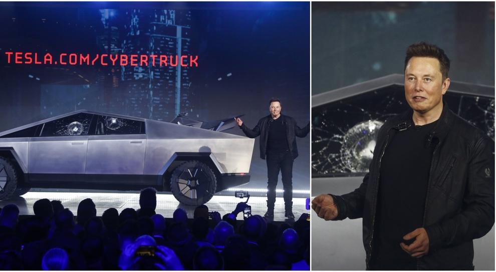 Elon Musk presenta la nuova Tesla, ma spacca il finestrino in diretta: imbarazzo sul palco