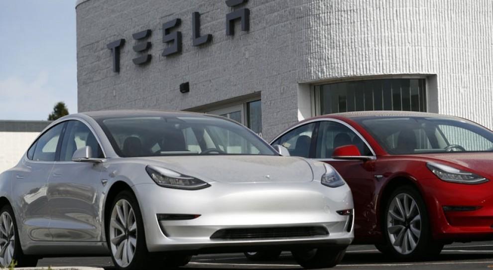 Alcune vetture Tesla