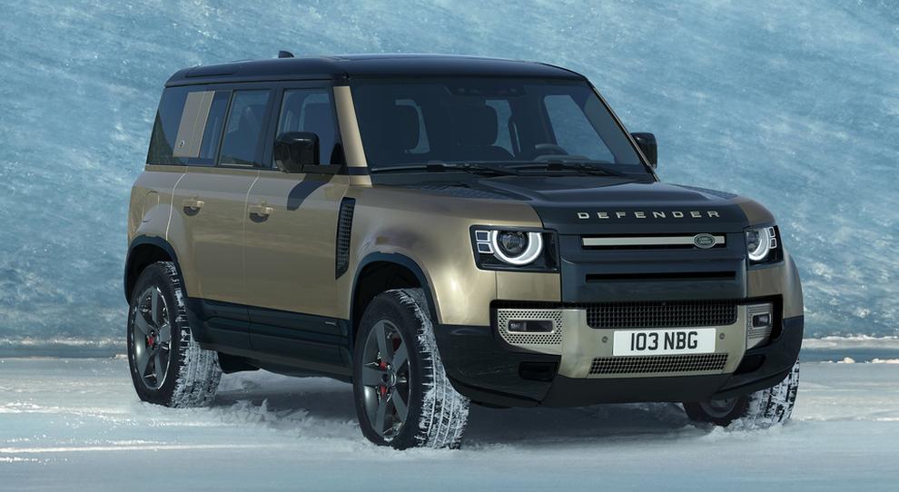 La nuova Land Rover Defender