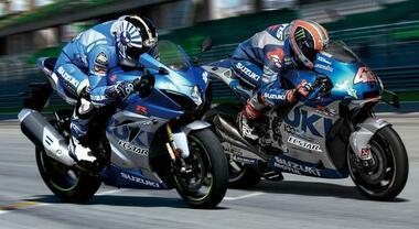 """Suzuki GSX-R1000R, arriva la versione """"Anniversary"""". Livrea ispirata alla MotoGP per celebrare 100 anni della casa"""