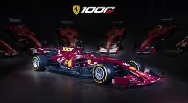 La Ferrari cambia colore al Mugello: monoposto amaranto per il 1000° Gp