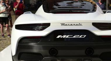 Modena, presentata in Piazza Grande la nuova Maserati