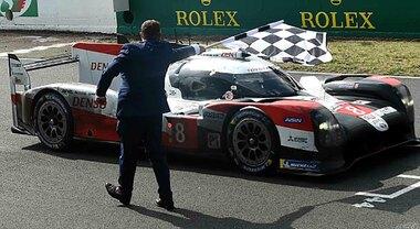 Toyota cala il tris alla 24 Ore di Le Mans. Aston Martin domina in entrambe le categorie GT