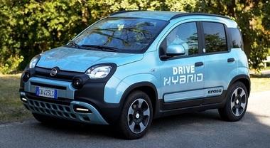 Fiat Panda Hybrid City Cross, ora anche a metano. Kit Ecomotive Solutions e Autogas Italia abbassa consumi e CO2