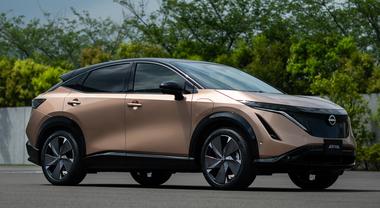 Nissan Ariya: per la prima volta al mondo, svelato in Italia il nuovo crossover elettrico