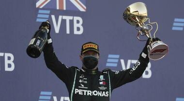 F1, GP Sochi: vince Bottas su Verstappen e Hamilton, Leclerc 6° con la Ferrari