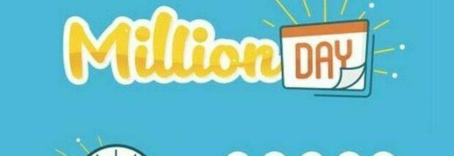 Million Day, i cinque numeri estratti di domenica 13 settembre 2020