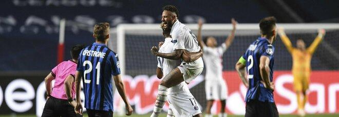 Atalanta dal sogno all'incubo in 3 minuti. Il Psg vince 2-1 dal 90' al 93'