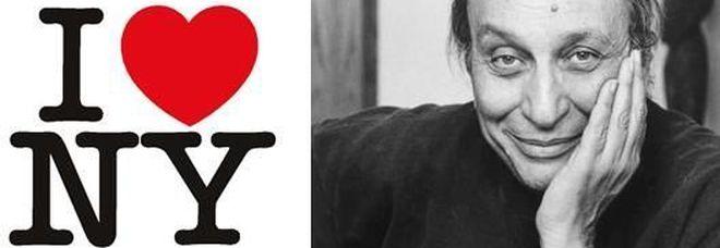 """Morto Milton Glaser, il graphic designer che ha creato il logo """"I love New York"""""""