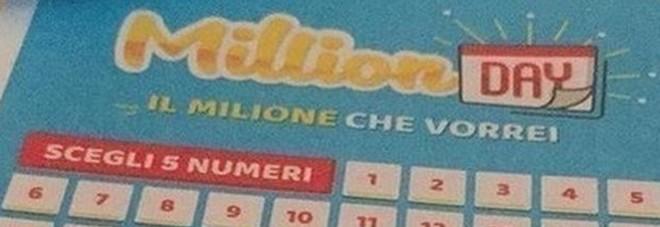 Million Day, i numeri vincenti di martedì 14 gennaio 2020