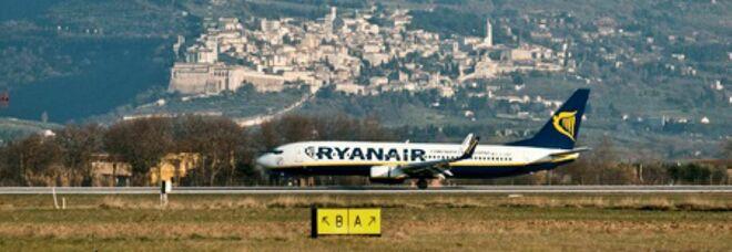 L'aeroporto di Perugia