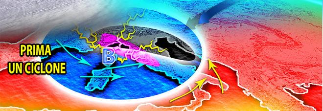 Meteo, dopo il caldo africano in arrivo pioggia e nubifragi: le previsioni