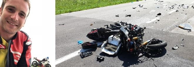 Scontro fra camion e moto: muore Luca di 26 anni