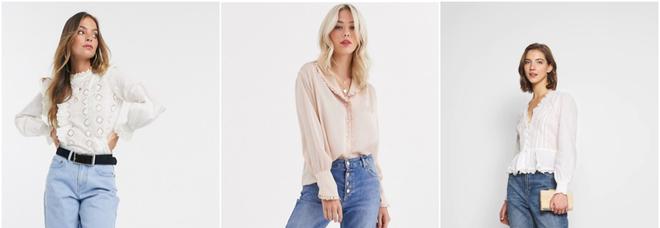 WISHLIST La camicia della primavera è in stile vittoriano: i modelli must have tra ricami e colletto maxi