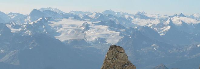 Il ghiacciao del Rutor in Val d'Aosta (foto da Wikipedia)